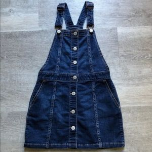 Gap Kids overall jumper skirt size M
